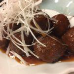 中華料理店の肉だんごと胃もたれについての私考