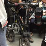 電動自転車も輪行していいんだ?