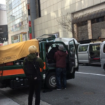 渋谷で目撃した交通トラブル 運転手が引きずり出され